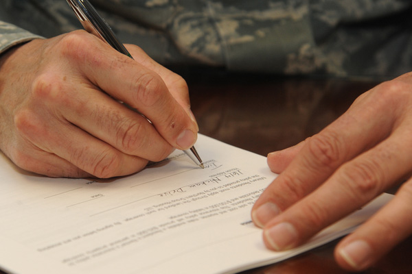 military cover letters