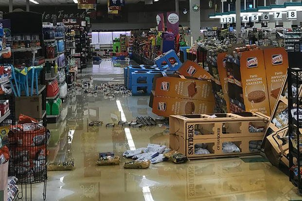 After Florence Commissaries Reopen Return to Normal
