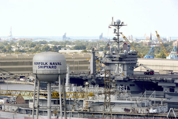 Admiral Upgrades Coming for Norfolk Naval Shipyard  Militarycom