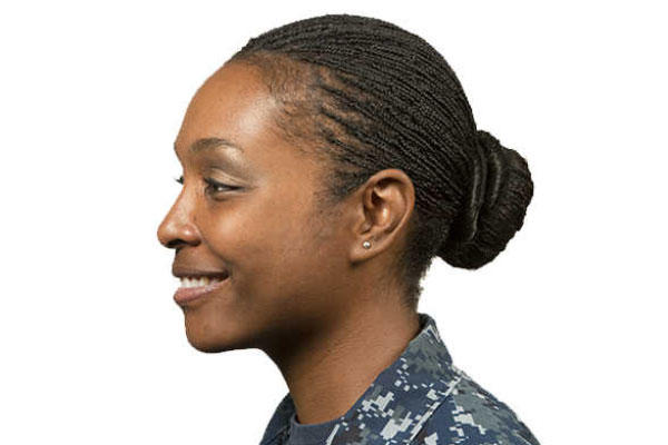 navy issues hairstyle policies