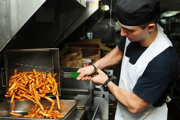Sailors Angry After Navy Bans Fried Food  Militarycom