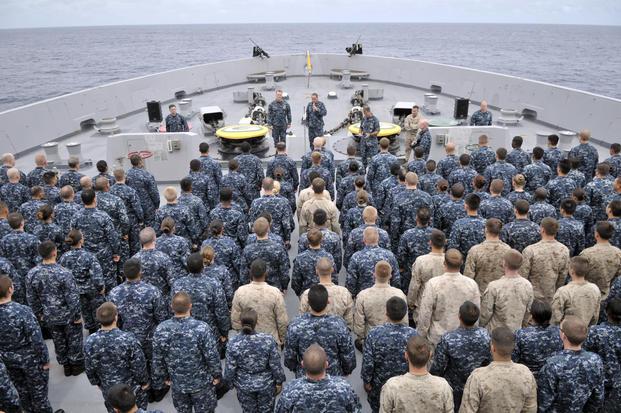 who has precedence navy