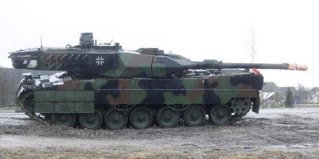 Wirbel um NATO-Panzer in Österreich