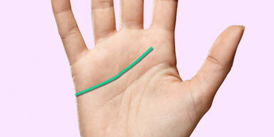 was bedeutet diese linie auf ihrer hand
