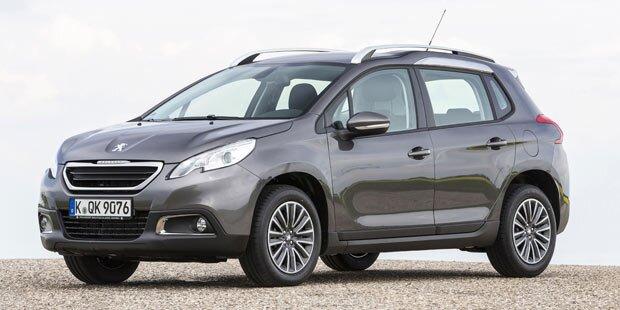 Peugeot 2008 bekommt Euro