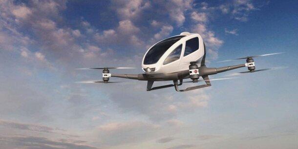 Uber arbeitet mit NASA an FlugTaxis