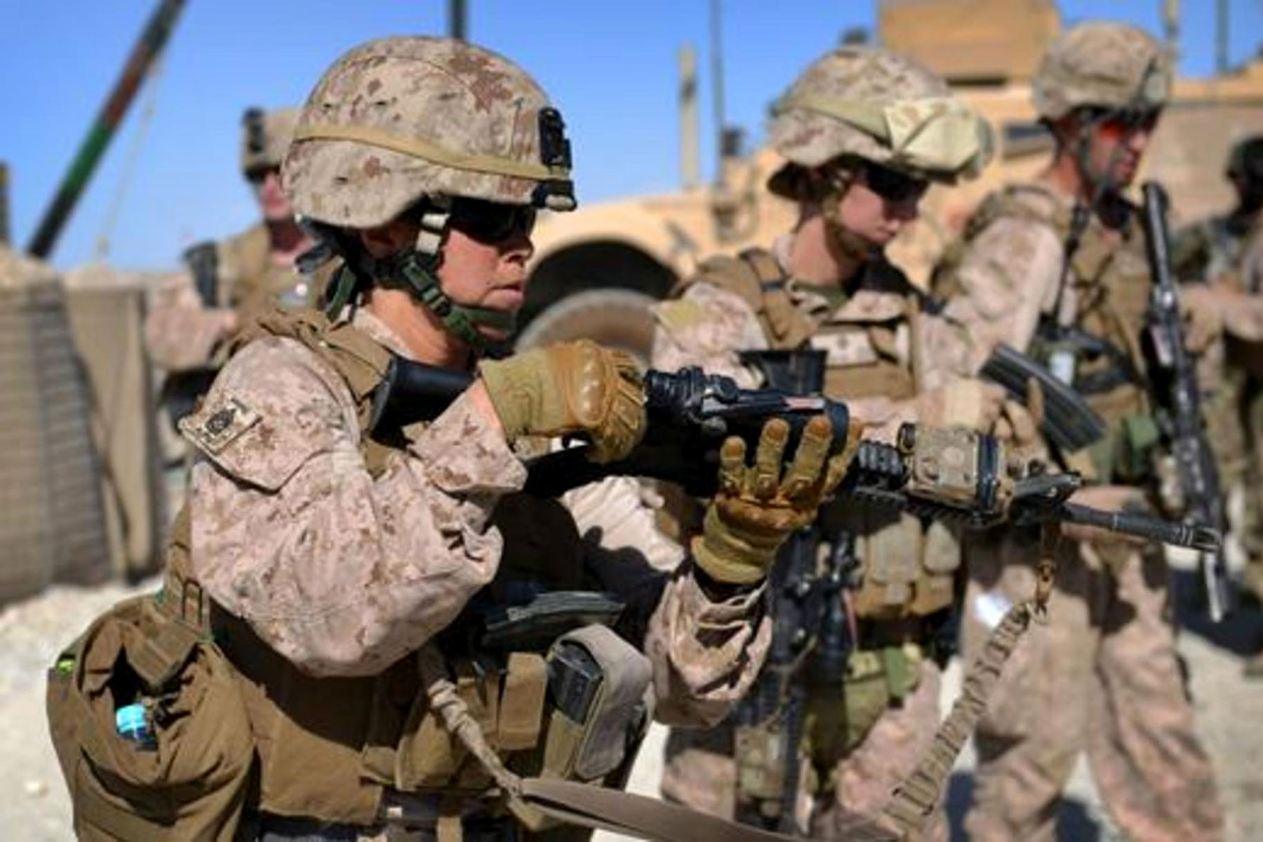 Marine Corps Quietly Drops Major Obstacle to Female