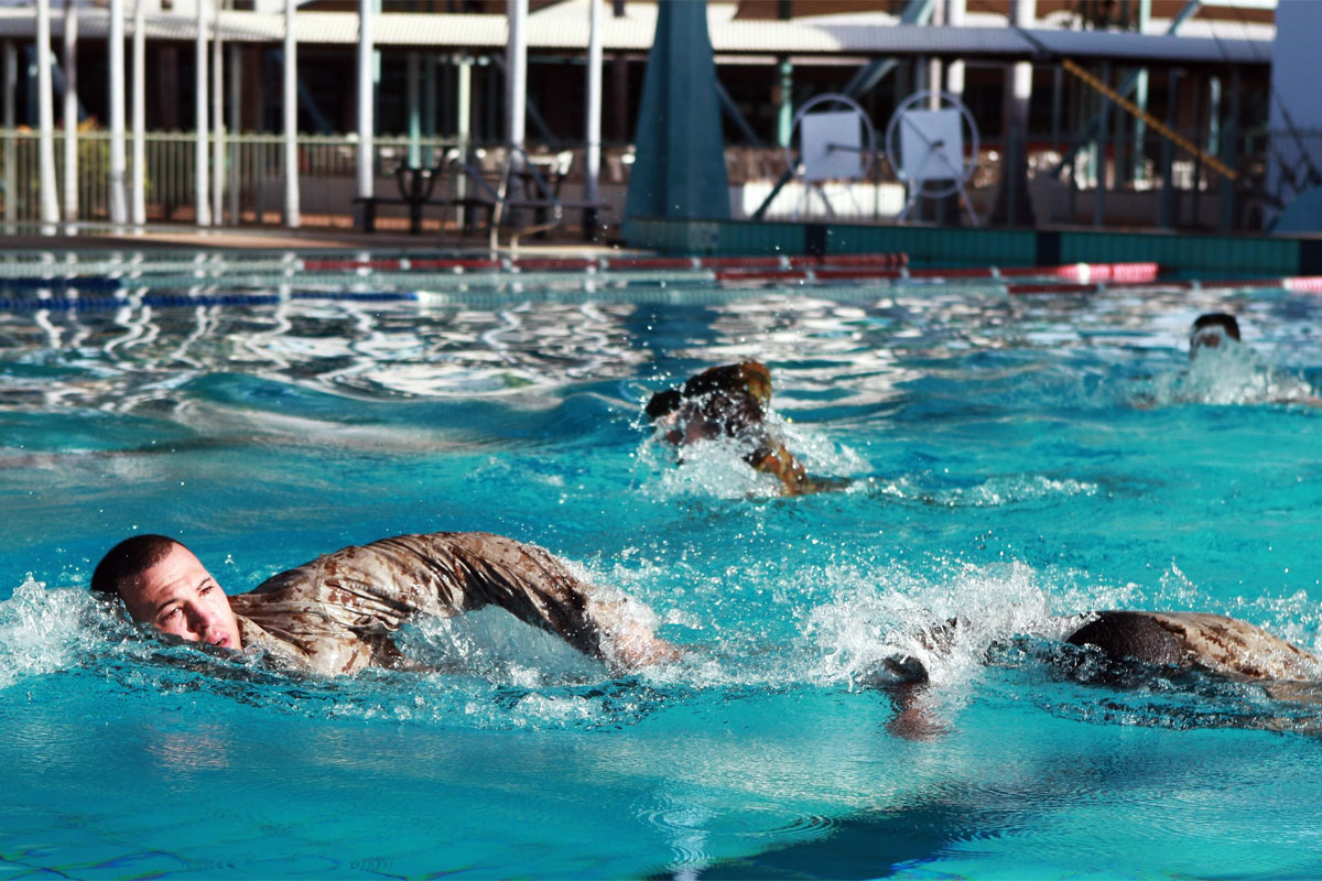 Military Swimming  How Good Should You Be  Militarycom
