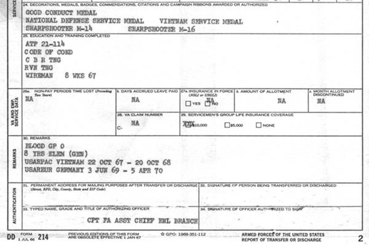 Rebuilding Service Records Military Com