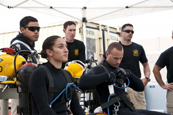Female Diver Leaves her Mark in History  Militarycom