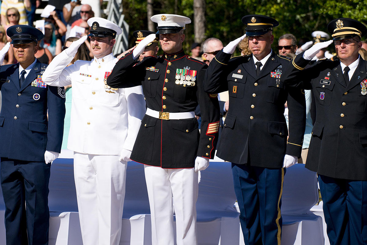 New Names Enshrined at Annual EOD Memorial Event
