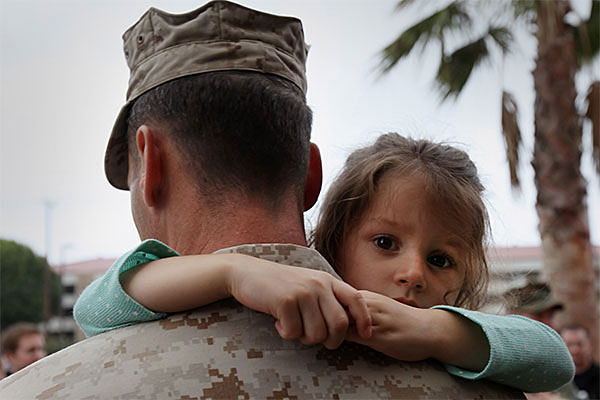 Helping A Young Child Cope With A Parent S Deployment