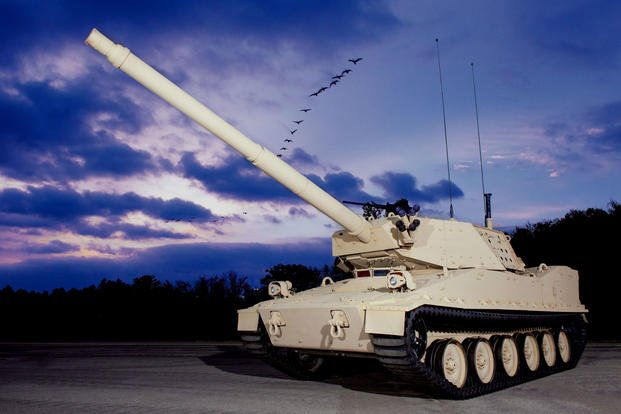October 2016: BAE Systems displays its Mobile Protected Firepower prototype at AUSA's meeting and exposition in Washington. Events such as this provide industry with opportunities to showcase technologies and discuss requirements for new capabilities. (Photo courtesy of BAE Systems)