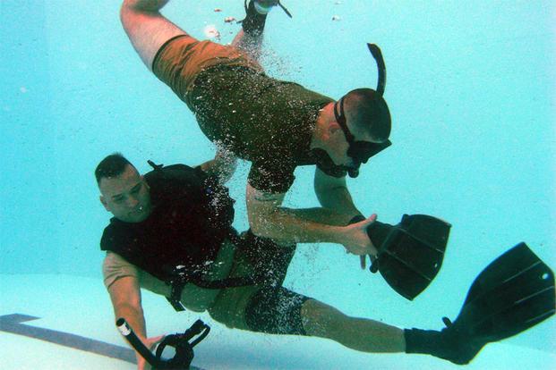 Dangers Of Underwater Swimming Military Com