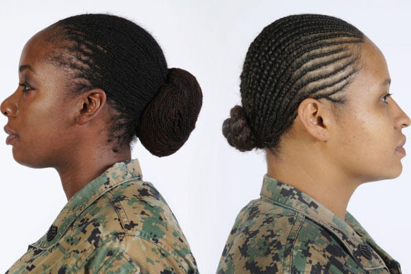 Marine Corps Authorizes Twist And Lock Hairstyles For