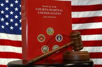 2016 Manual for Courts-Martial. (U.S. Air Force/SrA Van Syoc)