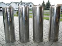 7 Inch Insulated stove pipe for sale in Sudbury, Ontario