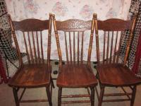 Antique Pressback Chairs | Antique Furniture