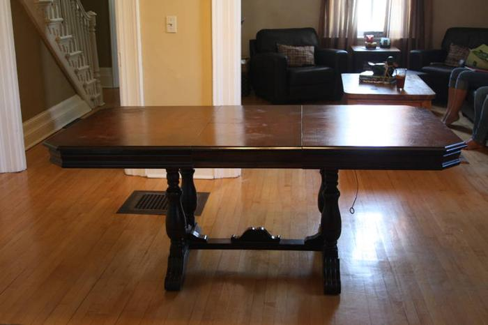 Lucknow Antique Dining Table Chairs Buffet China
