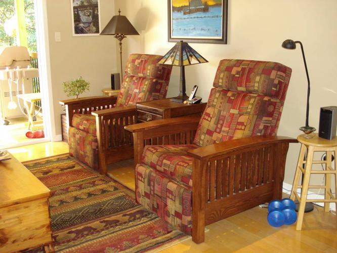 Solid Oak Mission Furniture