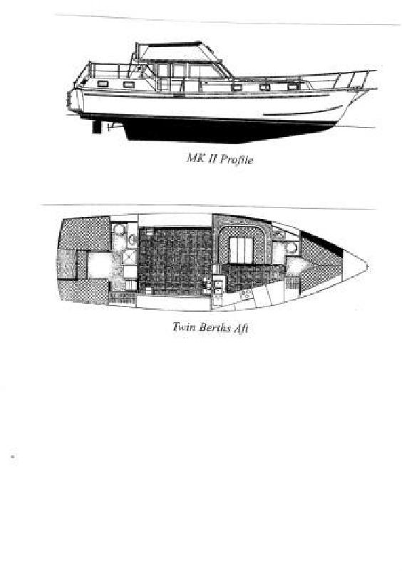 1975 43' Gulfstar MKII Trawler for sale in Ventura