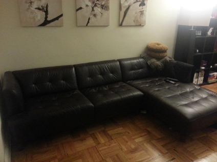 macy s sectional sofa leather sofas sales clearance obo macy's alessia chocolate brown ...