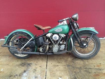 harley davidson ignition key number 2003 dodge caravan wiring diagram 1940 harley-davidson el knucklehead `original bike unrestored` for sale in portland, oregon ...