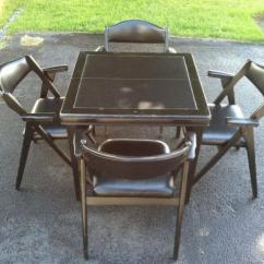 Coronet Folding Chairs Padded Seat And Back 1950is Norquist Table Seats For Sale In Canandaigua New York