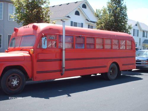 1960 Ford School Bus Converted To A RV For Sale In