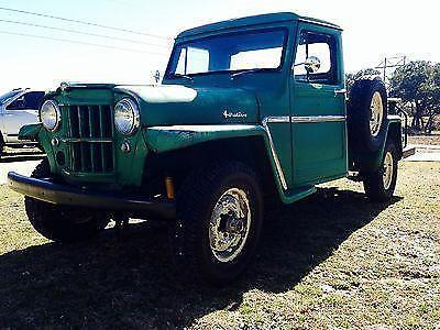 1960 Texas Jeep Willy Pickup 4wd For Sale In Spring Branch