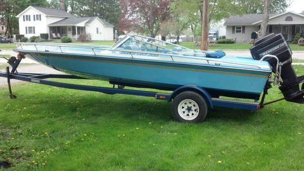 1987 baja sunsport 200 speed boat 150 mercury xr2  1987