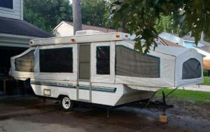 1995 Palomino Pop Up Trailer for Sale in Humble, Texas