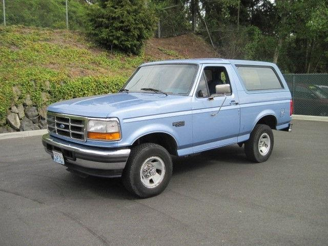 1996 Ford Bronco XL for Sale in Seattle Washington