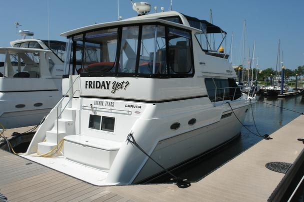 1999 Carver 406 Aft Cabin Motor Yacht For Sale In Clear