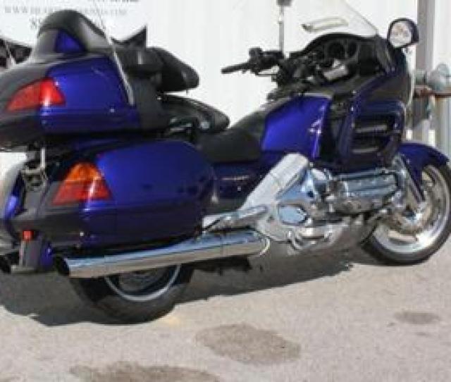 2003 Honda Gl1800 Goldwing Wabs Immaculate Low
