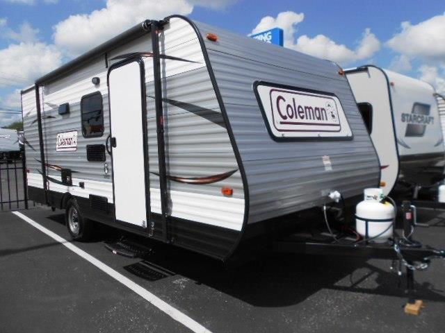 2016 Coleman CTS17BH  2016 Coleman Travel Trailer in
