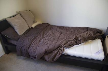 225 Ikea Sultan Fidjetun Mattress Malm Bed Frame