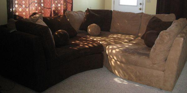Leather Sectional Sale Owner
