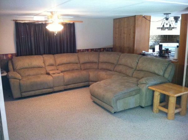 leon s mackenzie sofa small bedroom corner microfiber sectional classifieds buy sell across the usa americanlisted