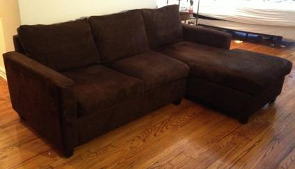 leon s mackenzie sofa apple green living room microfiber sectional classifieds buy sell across the usa americanlisted