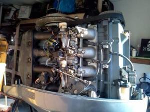 80,90, 100 hp Yamaha 4 stroke lower unit, powerhead, head