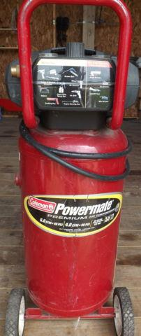Coleman Powermate Air Compressor 27 Gallon 5hp