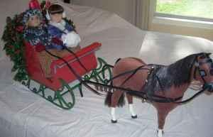 American Girl Doll Sleigh Horse Amp Accessories Magnolia
