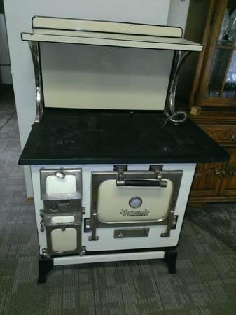 wood kitchen stoves for sale ideas small kitchens antique monarch malleable coal cook stove range oven ...