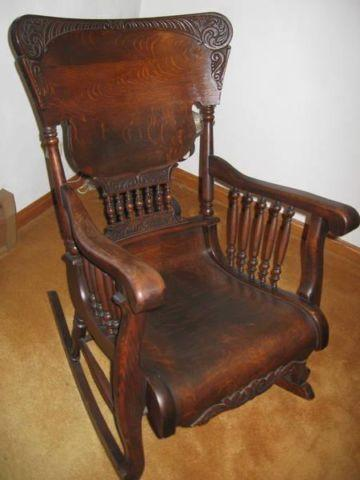 white rocking chairs for sale egg chair swing indoor antique oak - very fancy in parker, pennsylvania classified ...