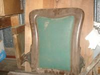 Antique Theater Theatre chair back