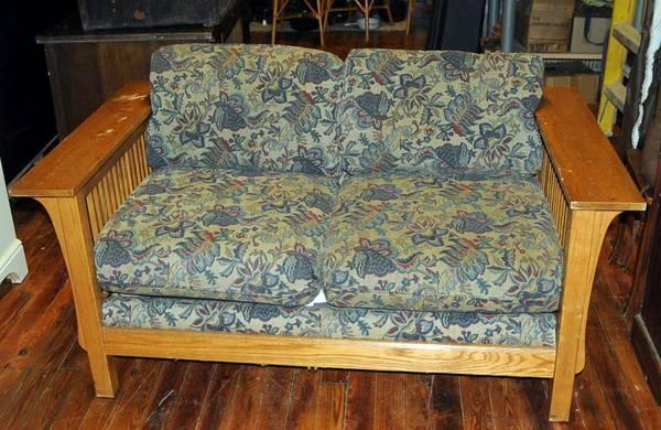 Bassett Mission Style Sofa  for Sale in Bascom Florida