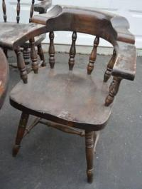 Bennington Pine Captain Chairs and Tables for Sale in East ...