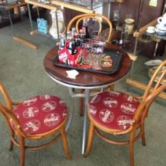 Coca Cola Chairs And Tables Bean Bag Chair Kit Carousel Horse New Used Furniture For Sale In The Usa Buy Sell Classifieds Americanlisted