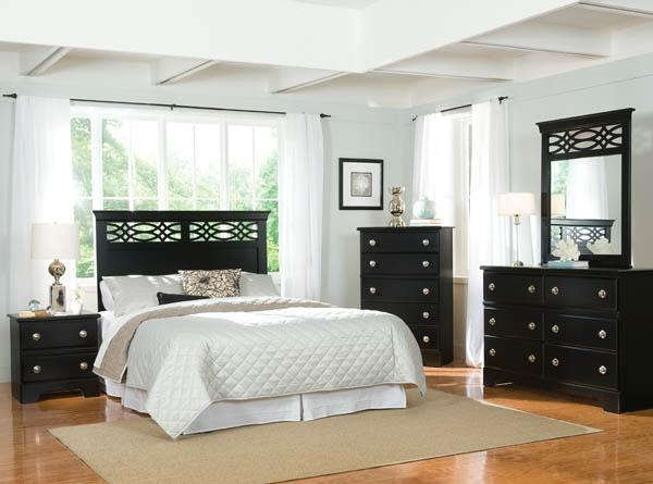 Brand New Bedroom Sets  Black Or White, Twin,fullqueen